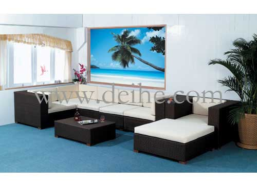 Outdoor Rattan Sofa In China For You