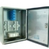 Outdoor Stainless Steel Wall Mount Fiber Optic Patch Panels