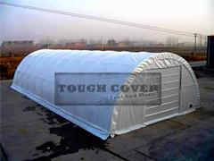 Outdoor Storage Building Tent Fabric Structuretc304015 Tc306515 Tc308515