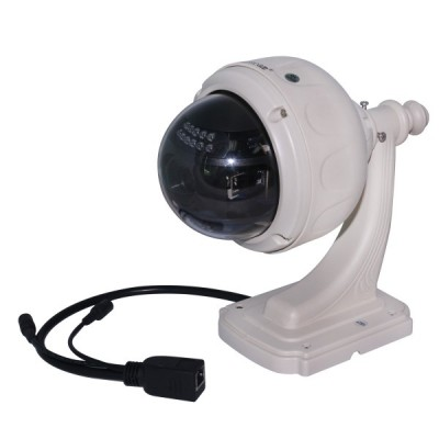 Outdoor Waterproof Ptz Dome P2p Ip Camera Wireless