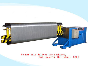 Ovalizer Tubeformer Air Duct Forming Machine