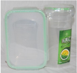 Oven Safe Plastic Food Storage Box With Cup