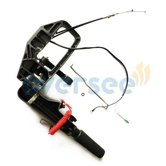 Oversee 69p W0084 00 4d Steering Handle Assy Replaces For Yamaha 30hp 25hp Outboard E25b E30h