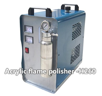 Oxyhydrogen Flame Polisher With 150 Liter Hour Gas Output