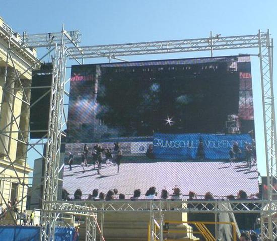 P10 Full Color Led Display For Outdoor Advertising