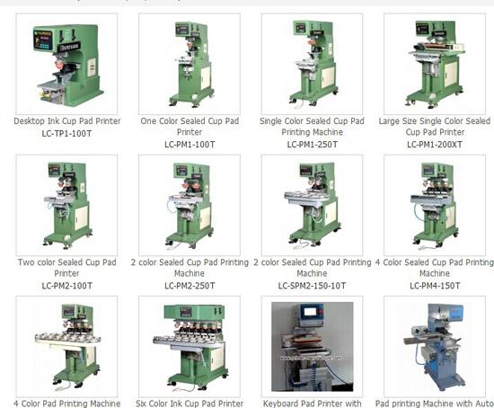 Pad Printing Machine Printer Tampo