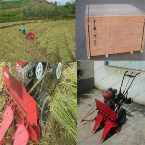 Paddy Reaper Rice Hand Push Harvester 008615238619639