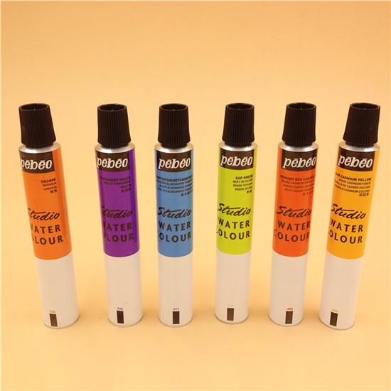Paint Colour Packing Flexible Aluminum Tube