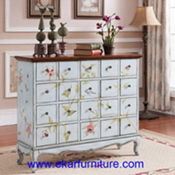 Painted Cabinet Wooden Sideboard Jx 0965