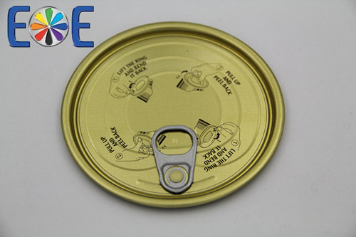 Palestine 401 Tinplate Easy Open Can Lids Supplier