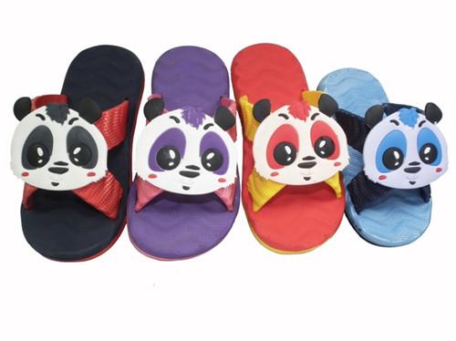 Panda Children S Flip Flops