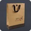 Paper Bag Luxury Ribbon Handle Bags