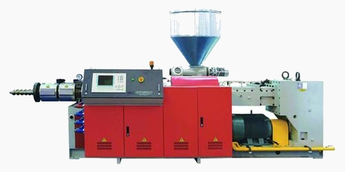 Parallel Counterrotating Twin Screw Extruder