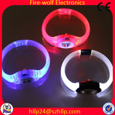 Party Supply Music Activated Led Bracelet Flashing China Manufacturer