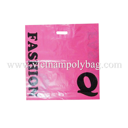 Patch Handle Plastic Poly Bag