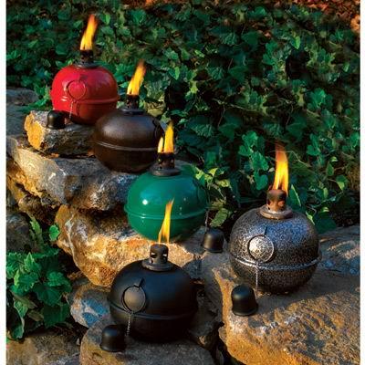 Patio Torches Smudge Pots Metal