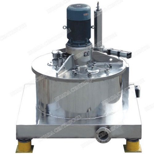 Paut Aut Bottom Discharge Scraper Centrifuges With Top Mounted Motor