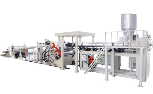 Pc Pmma Optical Sheet Extrusion Line