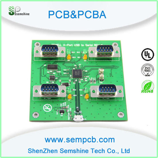 Pcb Assemby For Over Voltage Protection Circuit Breaker