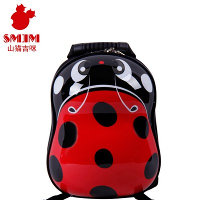 Peanut Shape Shanmao Designer Cool Kids Backpacks For School