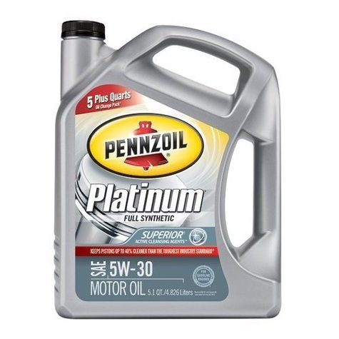 Pennzoil Platinum Full Synthetic 3x5 1 Qt