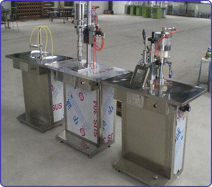 Perfume Filling Machine Aerosol Can