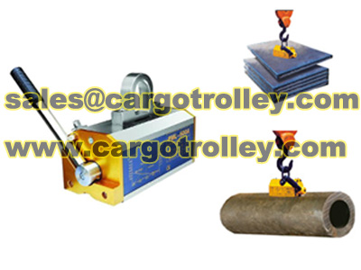 Permanent Magnet Lifters Safe Factors