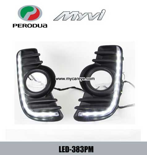 Perodua Myvi Led Daytime Running Lights Driving Daylight Aftermarket