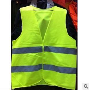 Personalised Custom Traffic Safety Clothing Wholesale Reflective Vest