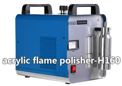 Perspex Flame Polisher With 65 Liter Hour