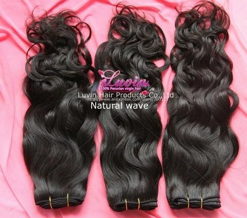 Peruvian Human Hair Natural Wave Free Shedding Tangle