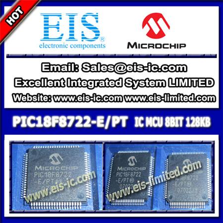 Pic18f8722 E Pt Microchip Microcontrollers Mcu Tqfp 80