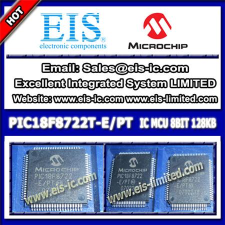 Pic18f8722t E Pt Microchip Microcontrollers Mcu Tqfp 80