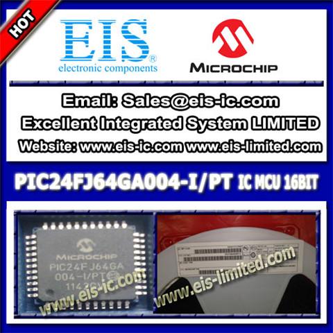 Pic24fj64ga004 I Pt Microchip Microcontrollers Mcu Tqfp 80