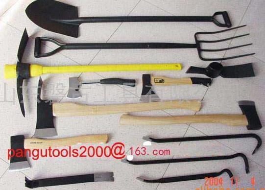 Pickaxes Shovels Forks Etc Tools