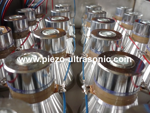 Piezo Cleaning Transducers