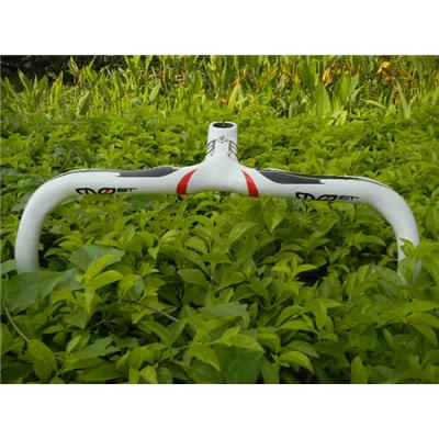 Pinarello Most Full Carbon Fiber Mtb Bicycle Integrated Handlebar With Stem White