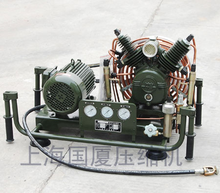 Piston Type High Pressure Air Compressor 300 Bar 30 Mpa 4500 Psi 100l Min 440v 60hz 220v 380v 50hz G