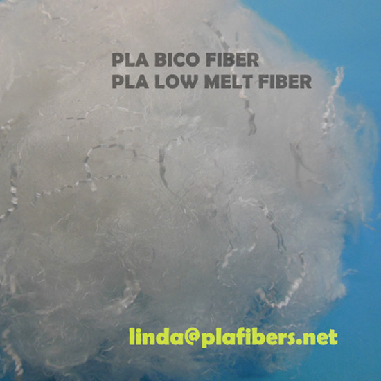 Pla Polylactic Acid Bicomponent Fiber Low Melt