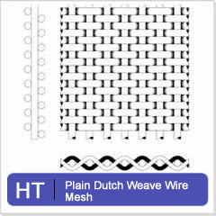 Plain And Twill Dutch Weave