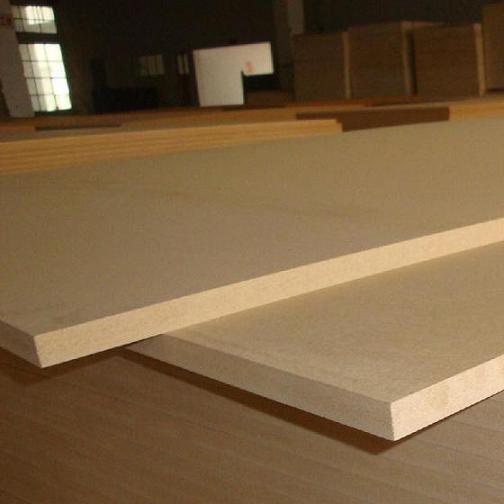 Plain Mdf Melamine For Furniture Or Decoration