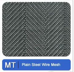 Plain Steel Wire Mesh Metal Tec