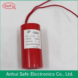 Plastic Can Capacitor With High Voltage From Factory