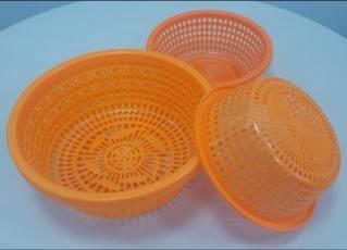 Plastic Fruit Storage Basket
