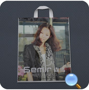 Plastic Handle Shopping Bags