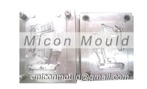 Plastic Injection Molded Children Toys Gun Mould