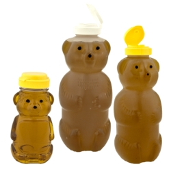 Plastic Ldpe Honey Bear Bottles