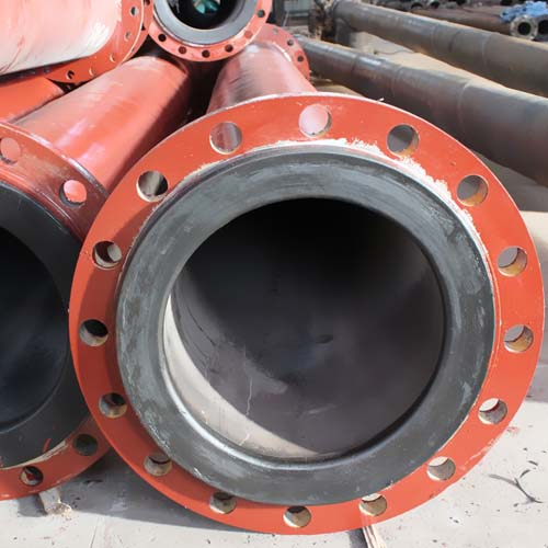 Plastic Lining Tailing Conveying Pipe