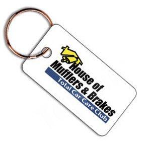 Plastic Mini Key Tag