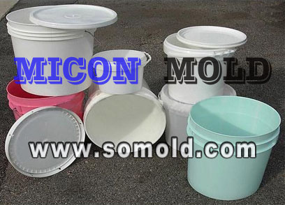 Plastic Mould For Pail Or Bucket